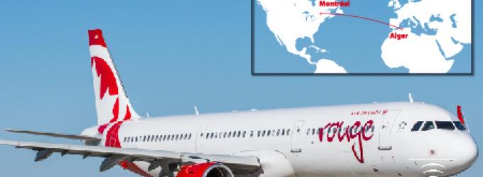 Un Airbus tout neuf sur le vol Montréal – Alger d'Air Canada