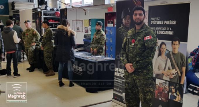 Le port du foulard n'est pas interdit dans l'armée canadienne.